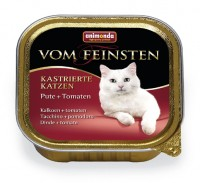 Animonda VOM FEINSTEN FOR CASTRATED CATS Turkey + Tomato