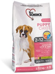1st Choice PUPPY All Breeds SENSITIVE SKIN & COAT