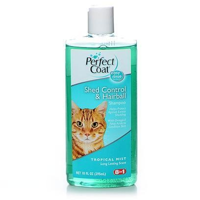 8in1 Perfect Coat SHED CONTROL & HAIRBALL Shampoo Tropical Mist