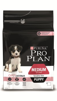 Pro Plan PUPPY MEDIUM SENSITIVE SKIN Salmon & Rice
