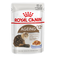 Royal Canin POUCH AGEING +12 in Jelly - Пауч для кошек старше 12 лет (кусочки в желе)