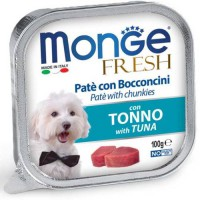 Monge Dog Fresh Tuna консервы для собак Тунец