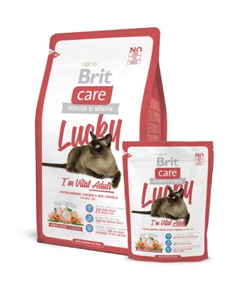 Brit Care CAT LUCKY I`m Vital Adult