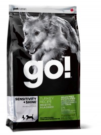 Go! SENSITIVITY + SHINE Grain Free Turkey Recipe for Dog
