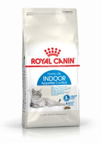 Royal Canin INDOOR APPETITE CONTROL - Для кошек, живущих в помещении, склонных к перееданию