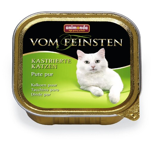 Animonda VOM FEINSTEN FOR CASTRATED CATS Pure Turkey