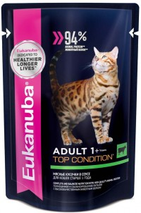 Eukanuba POUCH ADULT CAT Beef