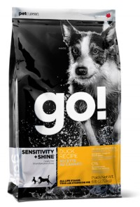 Go! SENSITIVITY + SHINE Duck Recipe for Dog