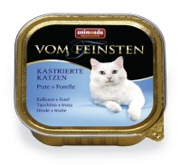 Animonda VOM FEINSTEN FOR CASTRATED CATS Turkey + Trout