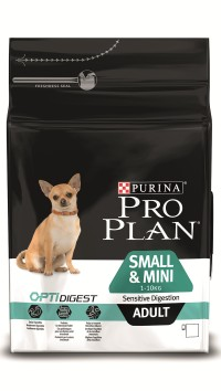 Pro Plan ADULT SMALL & MINI SENSITIVE DIGESTION Lamb & Rice