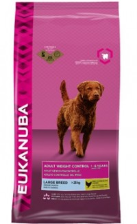 Eukanuba ADULT WEIGHT CONTROL Large Breed Chicken