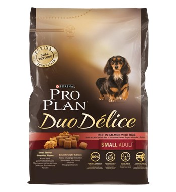 Pro Plan DUO DELICE SMALL ADULT Salmon & Rice