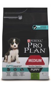 Pro Plan PUPPY MEDIUM SENSITIVE DIGESTION Lamb & Rice