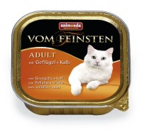 Animonda VOM FEINSTEN CAT ADULT Poultry + Veal