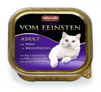 Animonda VOM FEINSTEN CAT ADULT Chicken + Seafood