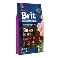 Brit Premium by Nature Adult S 8 кг