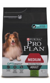 Pro Plan ADULT MEDIUM SENSITIVE DIGESTION Lamb & Rice