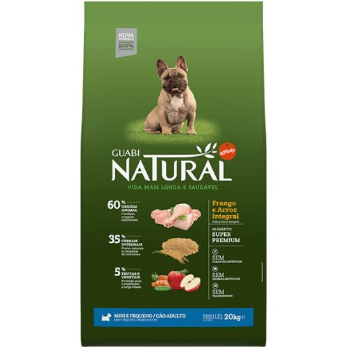 Guabi Natural ADULT SMALL BREED Chicken - Для собак мелких пород. С курицей