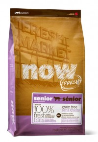 Now! Fresh SENIOR/WEIGHT MANAGEMENT CAT Turkey, Salmon, Duck