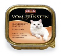 Animonda VOM FEINSTEN FOR CASTRATED CATS Turkey + Salmon