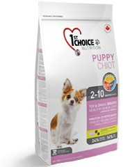 1st Choice PUPPY Toy & Small Breeds HEATHY SKIN & COAT