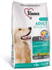 1st Choice ADULT DOG All Breeds LIGHT / HEALTY WEIGHT