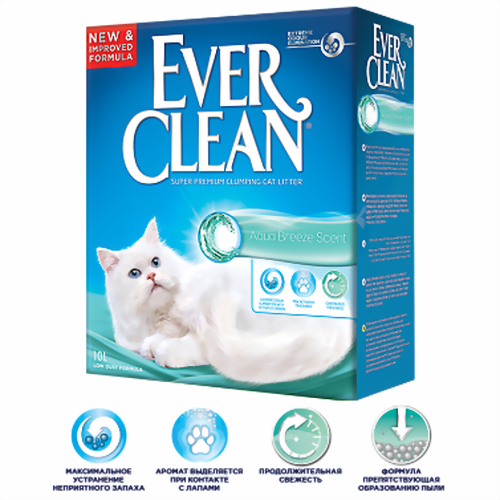 Ever Clean Extra Strong Clumping Unscented без ароматизатора
